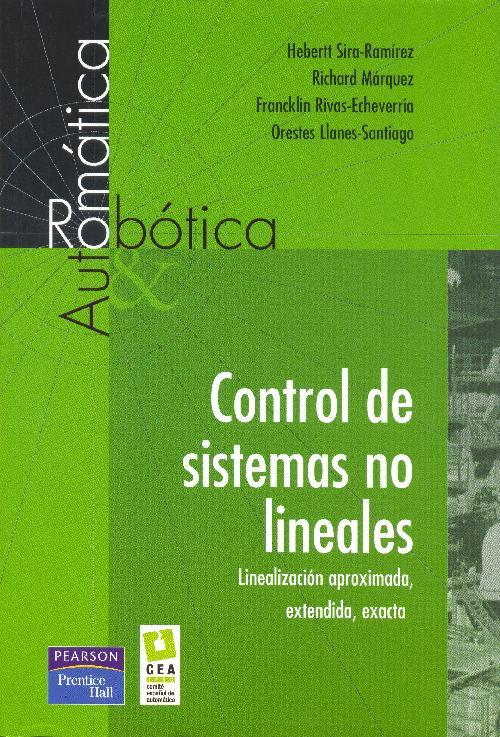 Control de sistemas no lineales (portada)